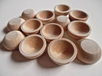 Wooden Miniature Bowls seconds